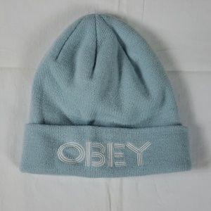 NWOT Obey• beanie